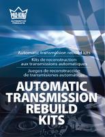 Automatic transmission rebuild kits Kits de reconstruction